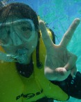 Xuan's Greeting From Underwater