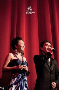 Xuan Hosting at 2012 FACSS Chinese Lunar Spring Festival Gala