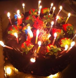My friend Ada's Birthday Cake
